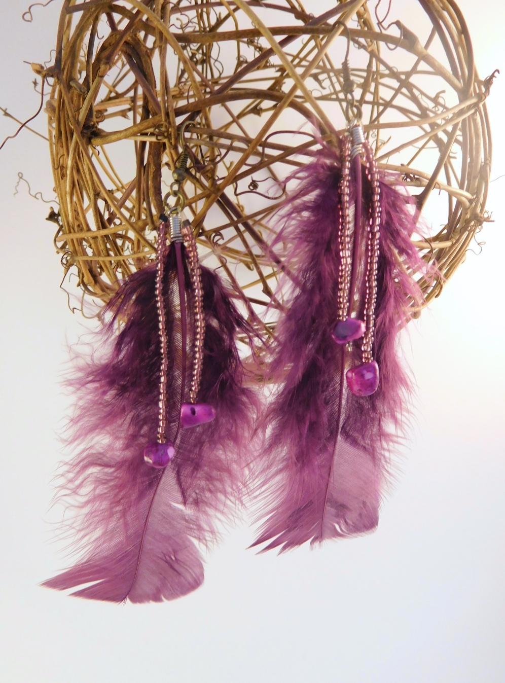 Purple w Beads